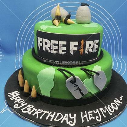 Free-Fire-Themed-Cakes-in-Nepal