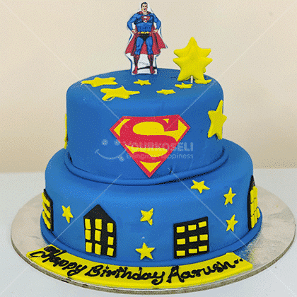 Superman-Themed-Cakes-in-Nepal