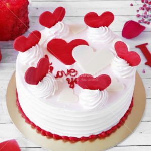 Vanilla-Valentine-Cakes