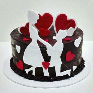 Couple-Cakes-for-Valentine