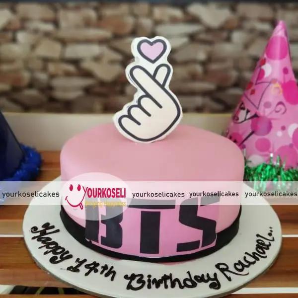 BTS Themed Cake