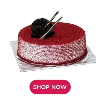 Red Velvet Cakes in Nepal