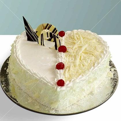 White-Forest-Cake-Nepal-Heart-Shape