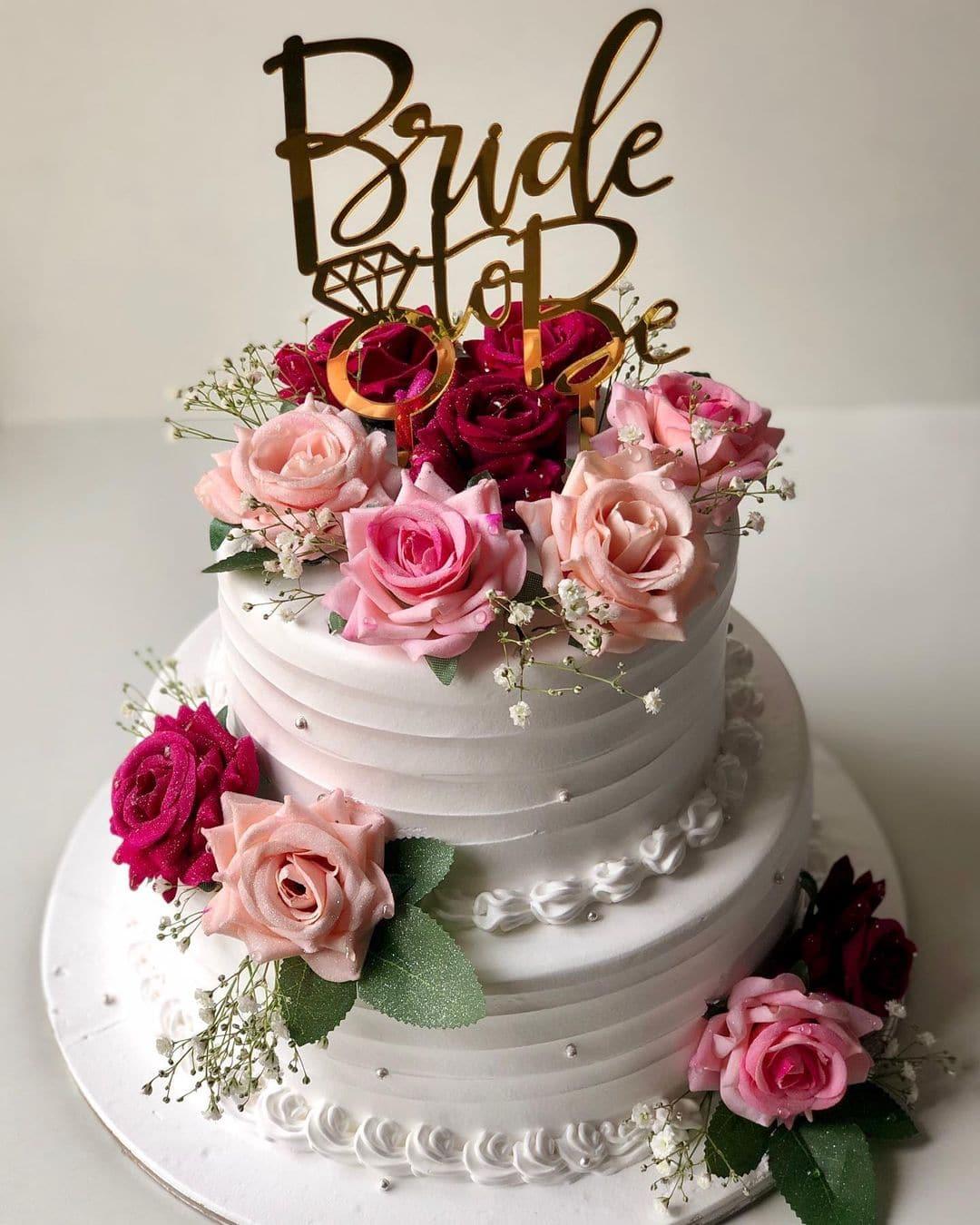 Bride to Be Cake Nepal