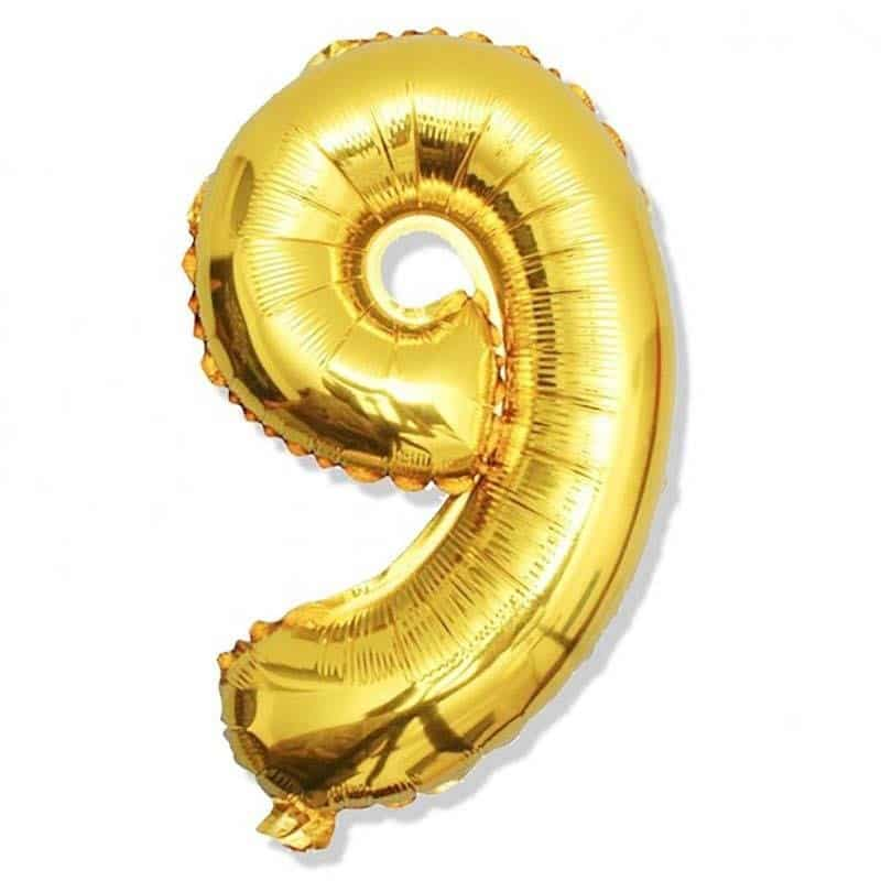 Number-Foil-9