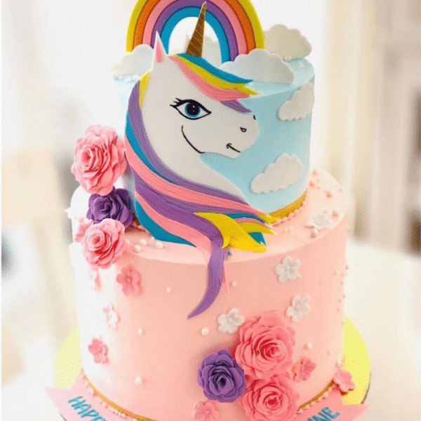 Unicorn cake 5 Pounds