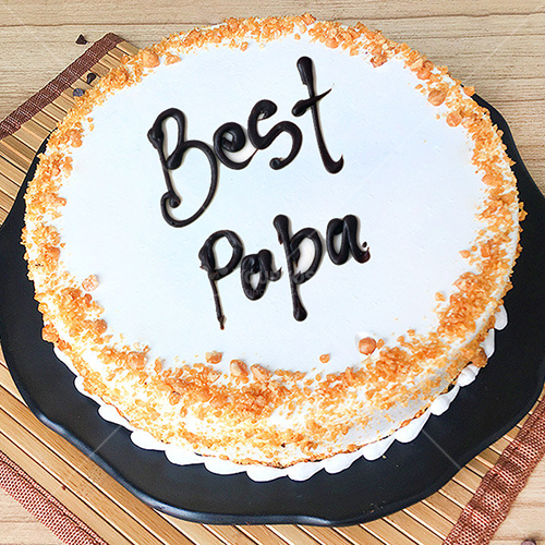 Butterscotch-Fathers-Day-Cake-in-Nepal