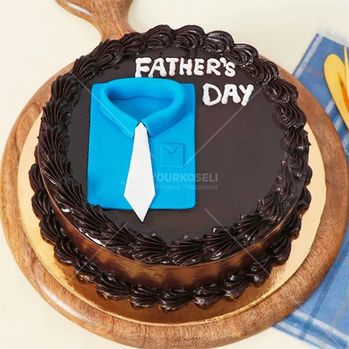 Delicious Fathers Day Chocolate Cake