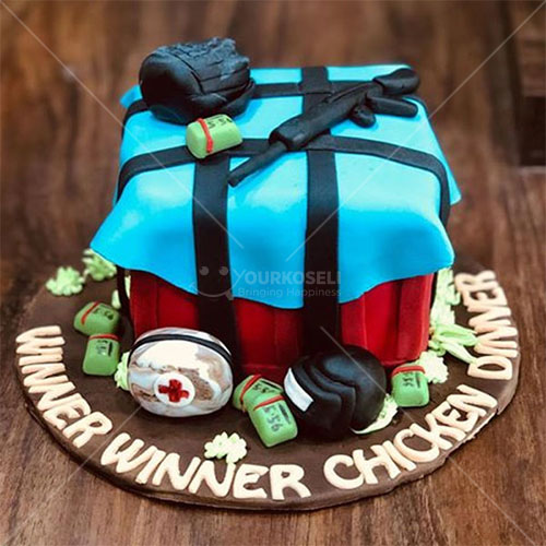 PUBG-Themed-Cakes-in-Nepal