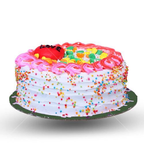 Drizzling-Color-Cake