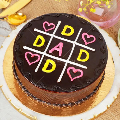 Special Fathers Day Chocolate Cake