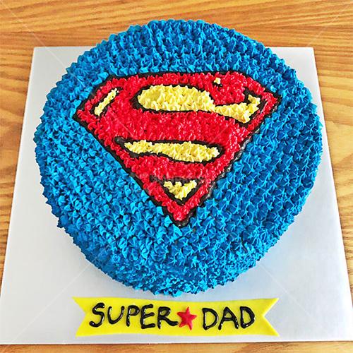 Super Dad Cream Cake