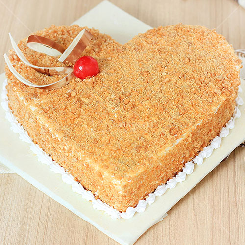 Heart Shaped Cakes in Nepal