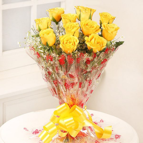 Yellow Roses Flower Delivery Nepal