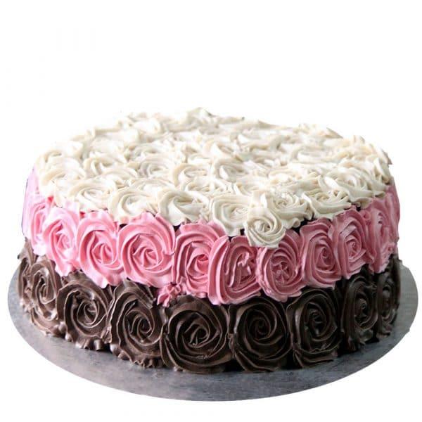 Birthday Rose Cake