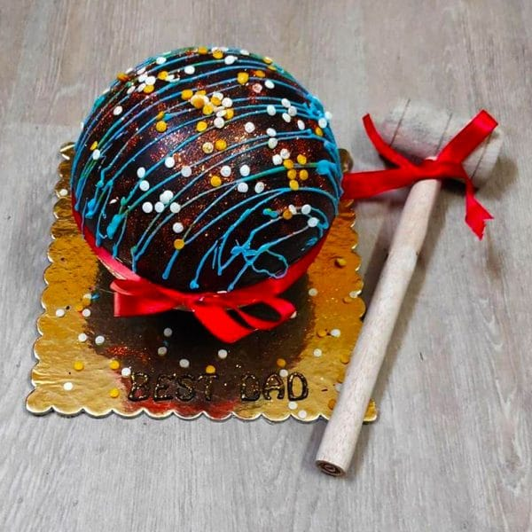 Exotic Pinata Cake
